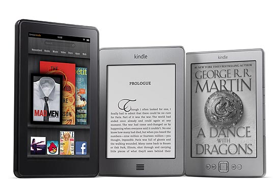 Kindle Fire, Kindle Touch e Kindle normal: comparativo de David Pogue